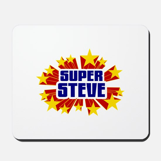Steve the Super Hero Mousepad
