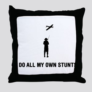 RC Airplane Throw Pillow