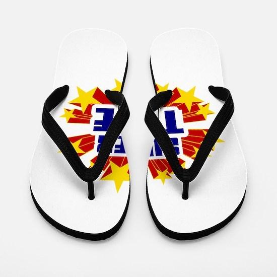 Tate the Super Hero Flip Flops