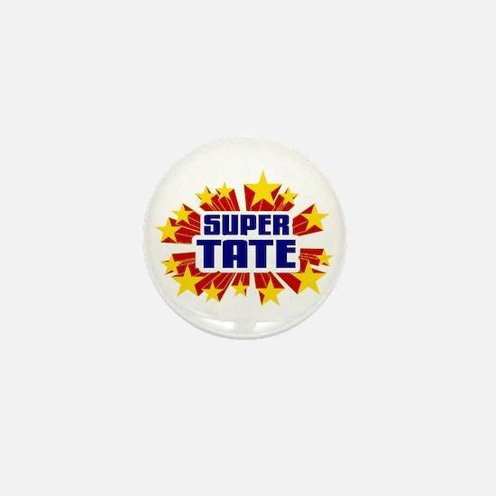 Tate the Super Hero Mini Button