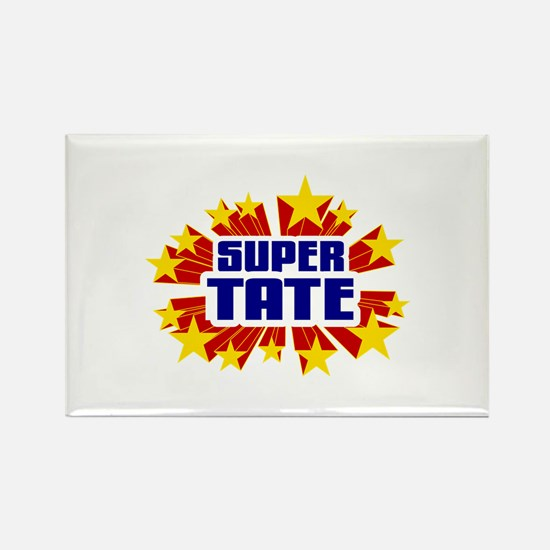 Tate the Super Hero Rectangle Magnet