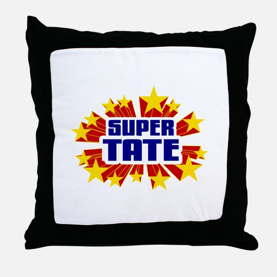 Tate the Super Hero Throw Pillow