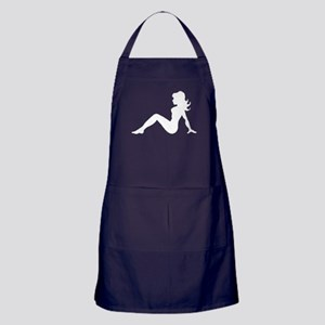 Mud Flap Woman Apron (dark)