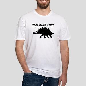 Custom Stegosaurus Silhouette T-Shirt