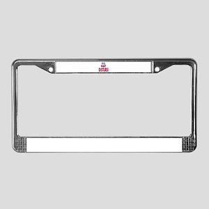 DO NOT DISTURB! License Plate Frame