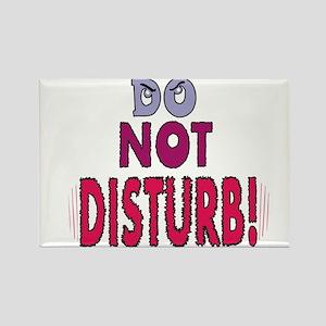 DO NOT DISTURB! Rectangle Magnet