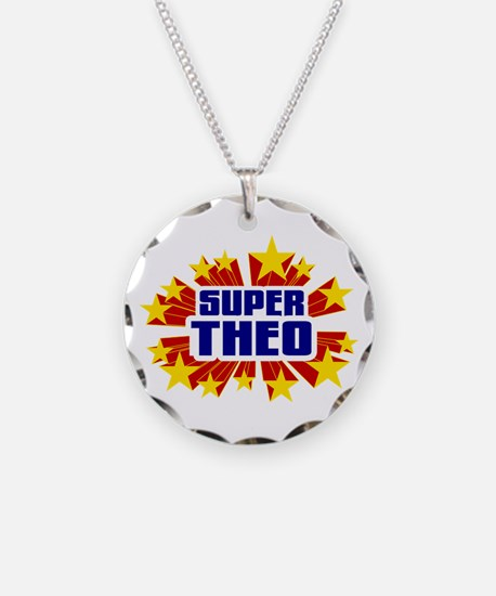 Theo the Super Hero Necklace