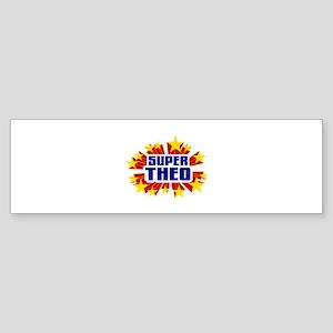 Theo the Super Hero Bumper Sticker