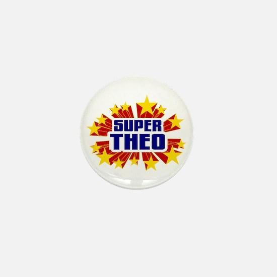Theo the Super Hero Mini Button