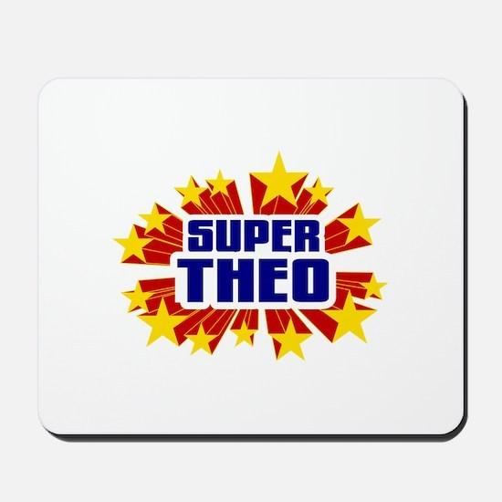 Theo the Super Hero Mousepad