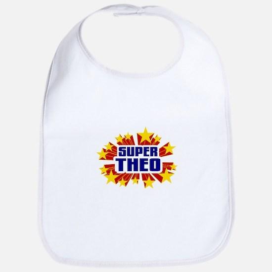 Theo the Super Hero Bib