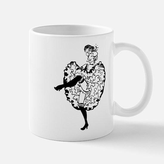 Cancan Dancer Mug