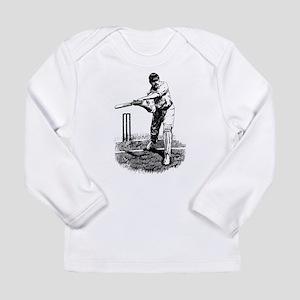 Cricket Player Long Sleeve Infant T-Shirt