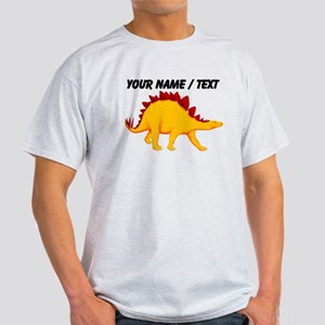 Custom Yellow Stegosaurus T-Shirt