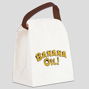 Banana Oil Canvas Lunch Bag