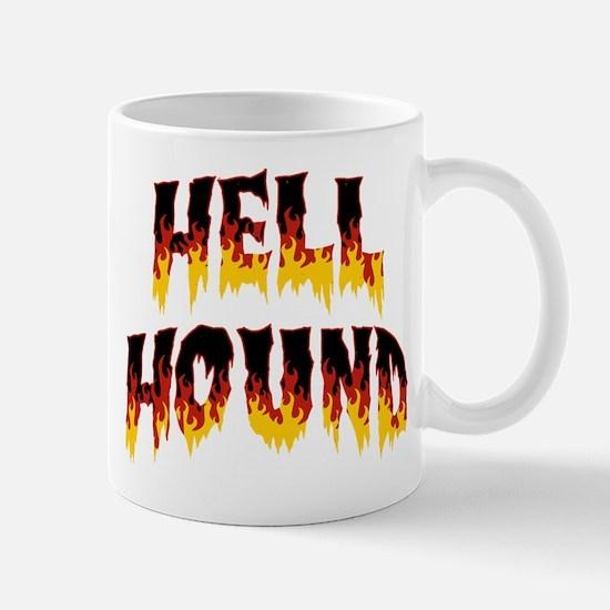 Retro Hell Hound Mug