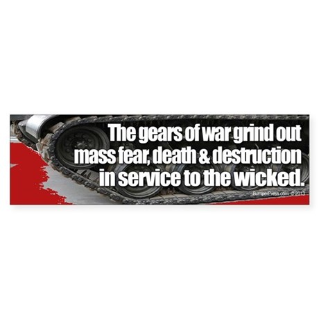 Gears of War Bumper Sticker