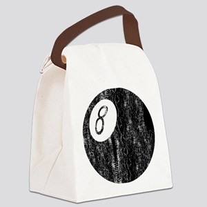 Worn 8-Ball Canvas Lunch Bag
