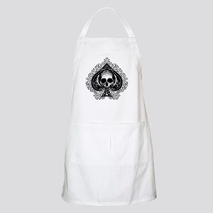 Skull Ace Of Spades Apron