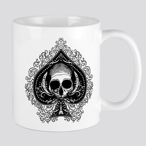 Skull Ace Of Spades Mug