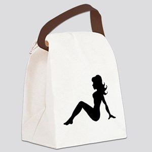 Mud Flap Woman Canvas Lunch Bag