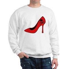 Evil High Heel Shoe Sweatshirt
