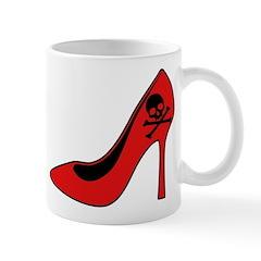 Evil High Heel Shoe Mug