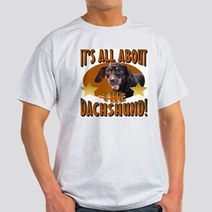 Dachshund Lover Ash Grey T-Shirt