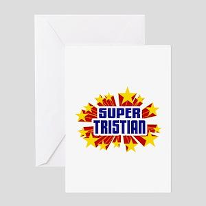 Tristian the Super Hero Greeting Card