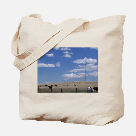 Fields of Grazing Tote Bag
