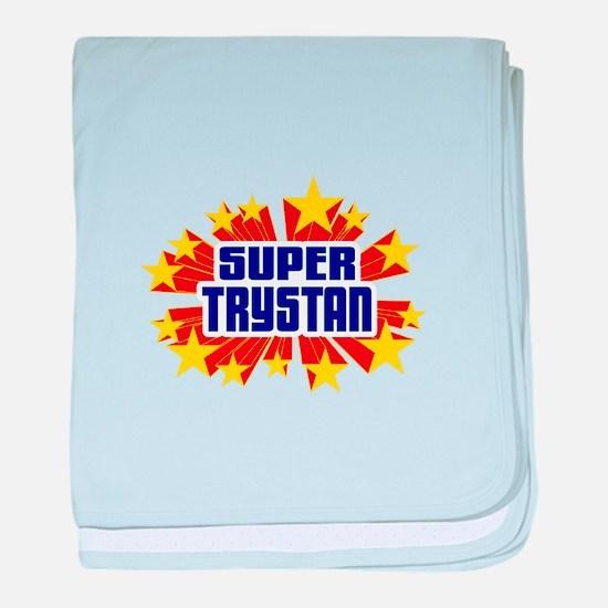 Trystan the Super Hero baby blanket