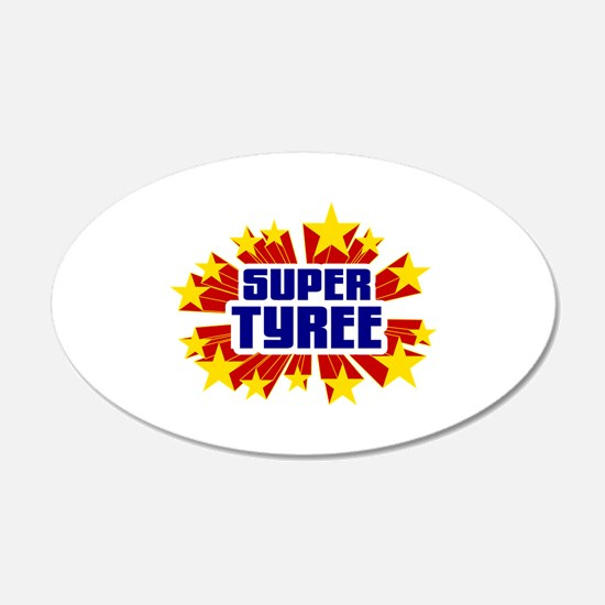 Tyree the Super Hero Wall Decal