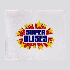 Ulises the Super Hero Throw Blanket