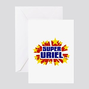 Uriel the Super Hero Greeting Card