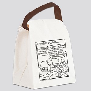 Puppy School - Chaos Canvas Lunch Bag