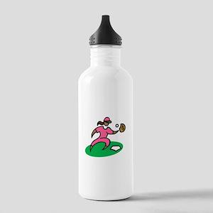 Baseball Girl Water Bottle