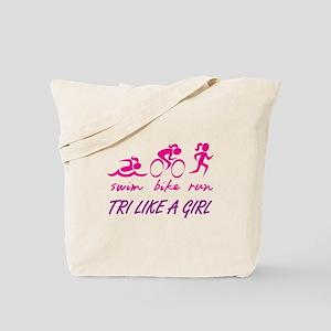 TRI LIKE A GIRL Tote Bag