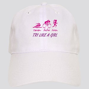TRI LIKE A GIRL Baseball Cap