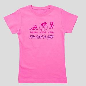 TRI LIKE A GIRL Girl's Tee