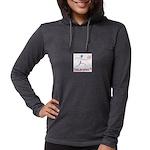 LogoColorTextBelow Womens Hooded Shirt