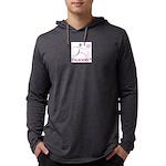LogoColorTextBelow Mens Hooded Shirt