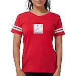 LogoColorTextBelow Womens Football Shirt