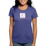LogoColorTextBelow Womens Tri-blend T-Shirt