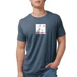 LogoColorTextBelow Mens Tri-blend T-Shirt
