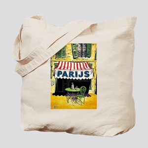 Vintage Paris France Travel Tote Bag