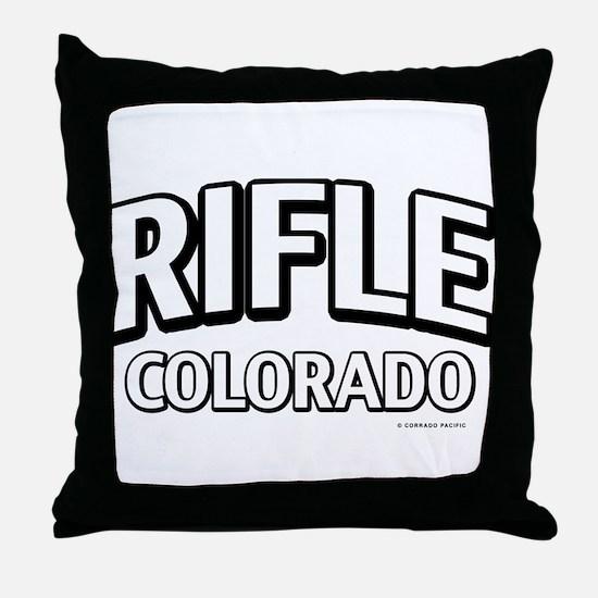 Rifle Colorado Throw Pillow