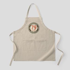 79th Birthday Vintage Apron