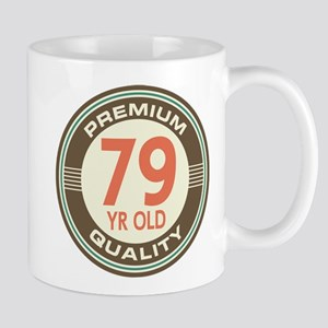 79th Birthday Vintage Mug