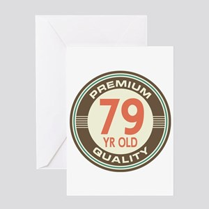 79th Birthday Vintage Greeting Card