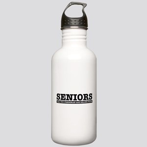 High School Senior humor Water Bottle